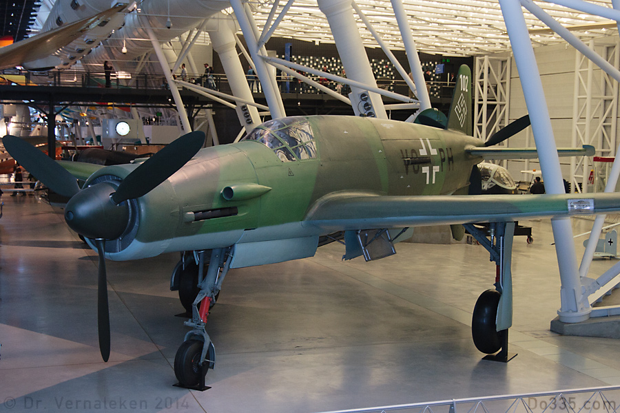 Do 335 im Udvar-Hazy-Center